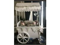 Wedding decorations props sweet cart post box ladder trees umbrellas hangers suitcase