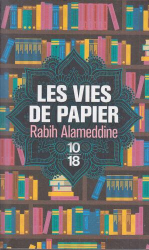 C1 Rabih ALAMEDDINE Les VIES DE PAPIER Poche 2017 PRIX FEMINA ETRANGER LIBAN
