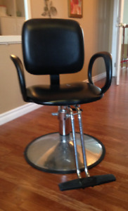 Hair Stylist chair and sink
