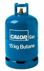 Calor gas 15kg cylinder bottle.