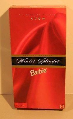 An Avon Exclusive Avon Special Edition Winter Splendor Barbie NEW 1998