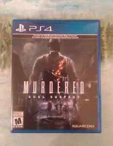 Murdered Soul Suspect PS4 $15.00