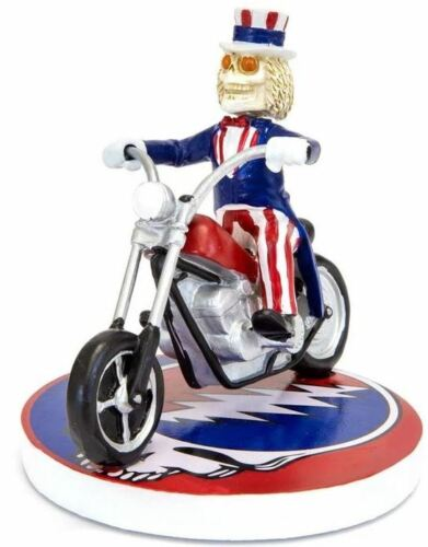 Grateful Dead Uncle Sam on Motorcycle Bobblehead - Individually Numbered
