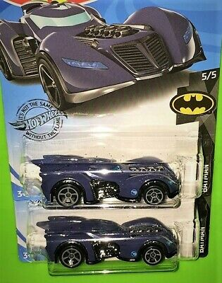 2020 Hot Wheels Treasure Hunt Batman Arkham Asylum Batmobile Lot of 2