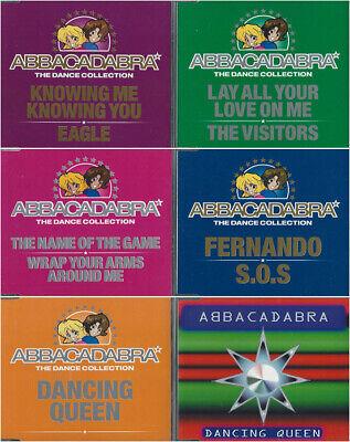 """ABBACADABRA - 12"""" Long Remix Maxi Singles 6 CD Set RARE! Almighty  ABBA"""