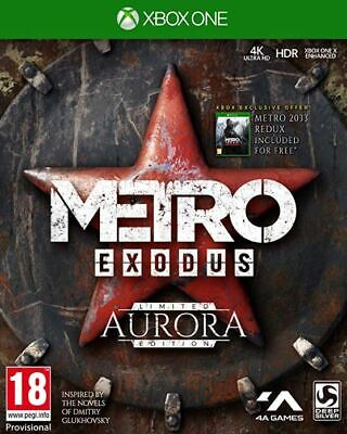 Metro Exodus Aurora Limited Edition (Xbox One)  BRAND NEW AND SEALED - IN STOCK