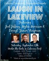 Dinner and Comedy in the Park