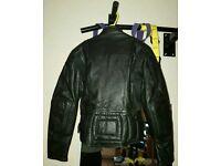 Ladies motorcycle leathers