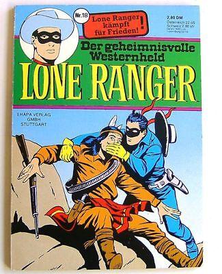 LONE RANGER - Taschenbuch 18 - ehapa - Z 1-2
