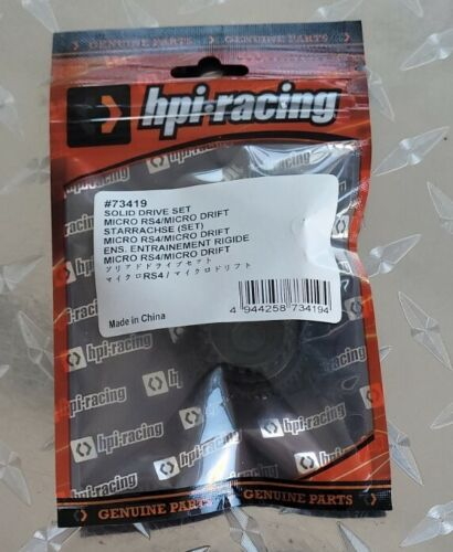 HPI Racing Solid Drive Set Micro RS4 Drift HPI73419 - $4.99