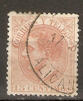 1882 ALFONSO XII EDIFIL 210 USADO