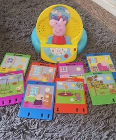 Peppa pig guess with Peppa electronic game