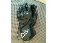 Alpinestars Mens Leather Motorbike/Motorcycle Gloves