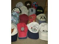 Job lot of 16 Baseball Hats / Caps