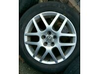 Mk4 golf gennuine VW alloys 205 55 r 16