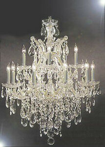 Magnificent Chandelier Online Shopping cascade sia tier 6 light crystal chandelier Maria Theresa Swarovski Crystal Trimmed Chandelier Lighting H30