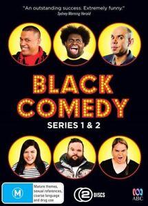 Black Comedy Season 1 & 2 DVD Box set R4