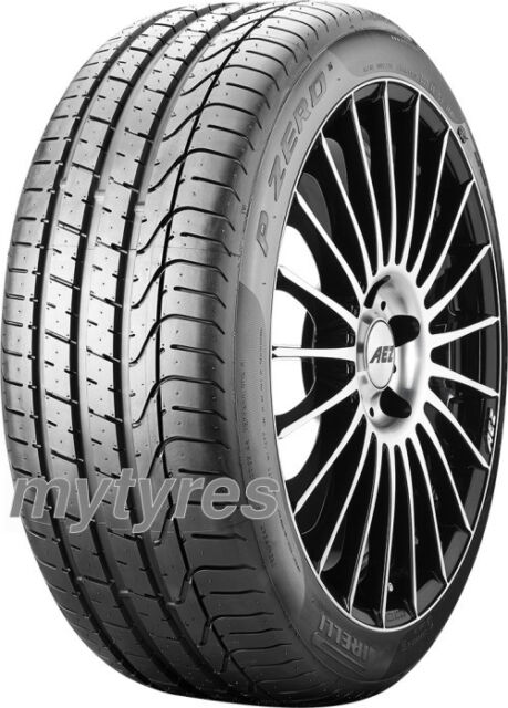 2x SUMMER TYRES Pirelli P Zero 255/45 R19 100W MO BSW with MFS