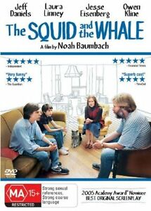 The Squid And The Whale Region 4 DVD Low P&H