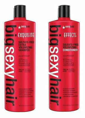 Big Sexy Hair Sulfate Free Extra Volumizing Shampoo and Conditioner DUO 33.8 oz.