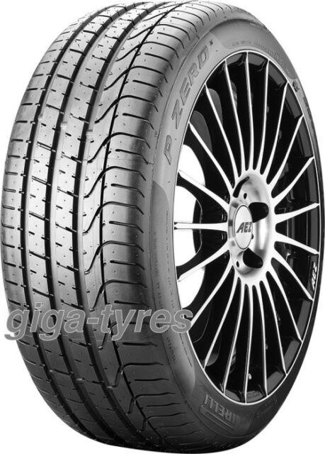 4x SUMMER TYRE Pirelli P Zero 235/35 ZR19 91Y XL BSW með MFS