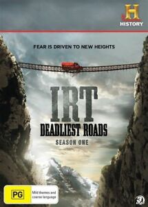 Ice Road Truckers - Deadliest Roads (DVD, 2011, 3-Disc Set)  R4 DVD PAL NEW