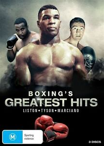 Boxing's Greatest Hits (DVD, 2013, 3-Disc Set)-REGION 4-Brand new-Free postage