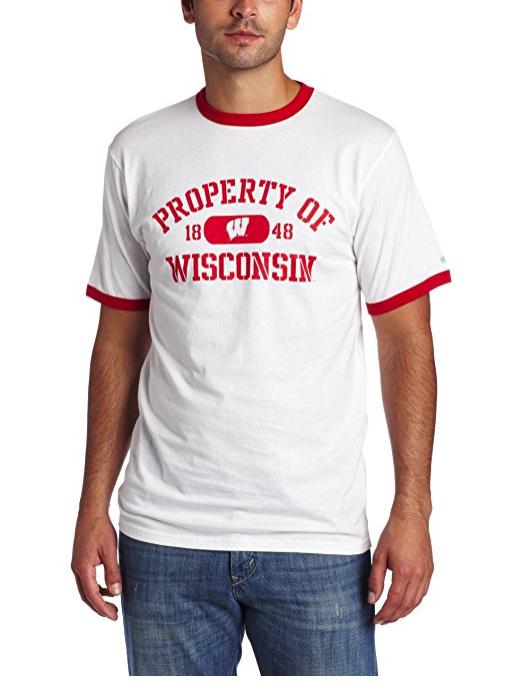 NCAA Penn State Nittany Lions Ringer T-Shirt Men FREE SHIPPING