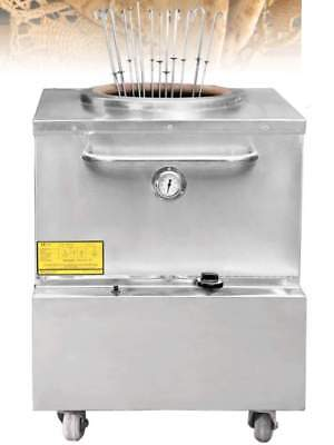 Omcan Ce-in-3434 Stainless Steel Gas Tandoor Tandoori Clay Oven Large New