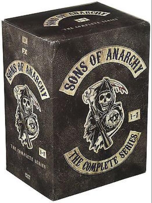 Купить Sons of Anarchy:The Complete Series Seasons 1-7 1 2 3 4 5 6 7 ( 30 DVD, 2015)