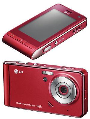 NEW ✔ LG VIEWTY KU990 | RED |✔UNLOCKED✔ | @LOOK@ - Collectors Phone