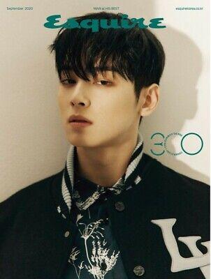 Esquire CHA EUNWOO Korea MAGAZINE 2020 SEP SEPTEMBER NEW