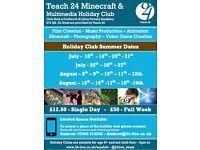 Minecraft and Media Summer Club