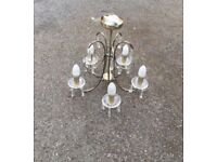 5 arms chandelier ceiling light