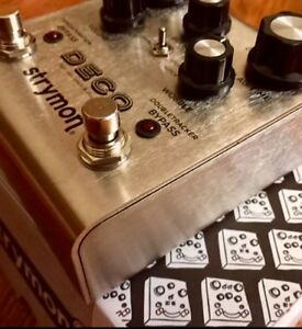 Strymon deco - tape saturation / double tracking / flanger pedal