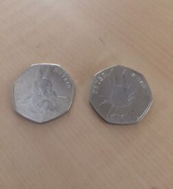 Peter Rabbit Collectable 50p