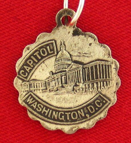 Vintage Sterling Silver WASHINGTON DC CAPITOL Charm