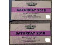 GOODWOOD REVIVAL MEETING TICKETS SATURDAY 8TH SEPTEMBER X 2