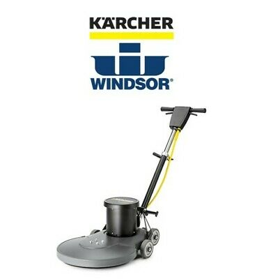 New In Box Karcher Windsor 20 High Speed Burnisher Polisher With Dust Control