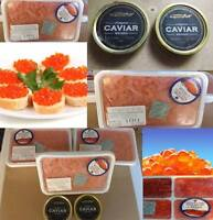 Red and black caviar (British Columbia)