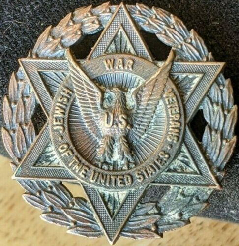 JEWISH WAR VETERANS OF THE UNITED STATES. BRONZE COIN / MEDALLION DETAILED EAGLE