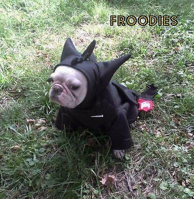 French Bulldog Boston Pug Dog Froodies Hoodies Cosplay Costume Toothless Dragon](Costume Pug)