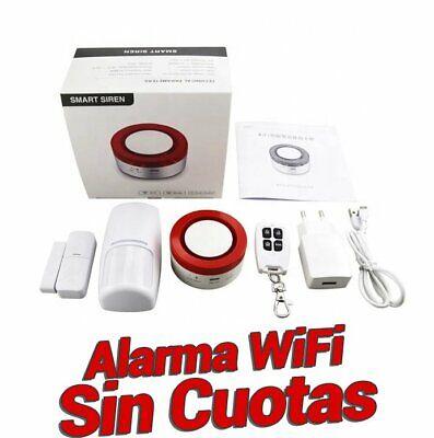 Alarma WiFi para hogar Sin Cuotas Detector Movimiento Sensor Apertura H1 zoom