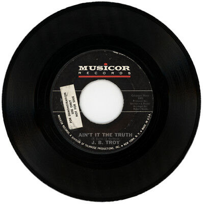 "J. B. TROY  ""AIN'T IT THE TRUTH""  DEMO   NORTHERN SOUL"