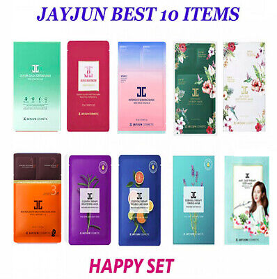 [JAYJUN] HIT 10 Items Mask Pack Anti-Aging, Moisturizing, Lifting(1Box 10sheets)