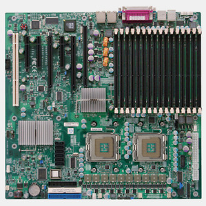 Server motherboard with 2x Quad core Xeon 2.66GHz - 32GB Ram