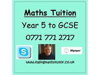 Ealing Maths Tutor - Year 5 to GCSE Mathematics Tuition