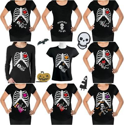 Halloween Funny Maternity Pregnancy Easy Costume Announcement T-shirt S - 2XL (Halloween Pregnancy Announcements)