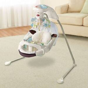 FISHER PRICE My Little Lamb baby cradle n swing bassinet RRP$350 Potts Point Inner Sydney Preview