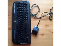 logitech wireless keyboard and wired mouse set